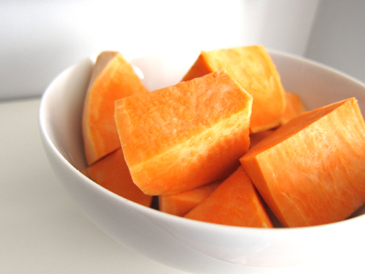 Organic Yams Baby Food