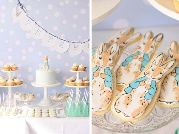 peter rabbit boy baby shower image here