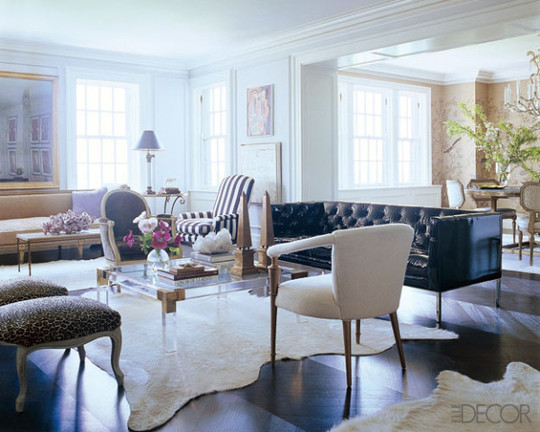 clear coffee tables | le zoe musings