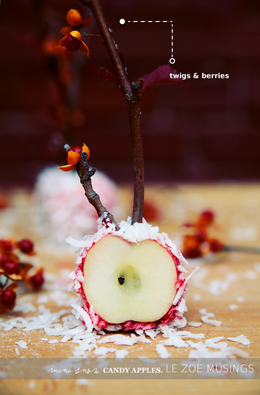 mini snow candy apples4