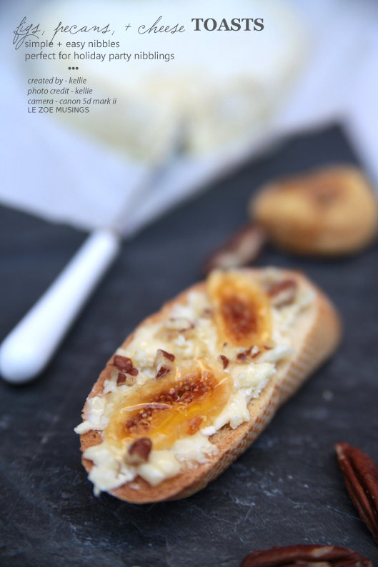figs pecans and cheese toasts2