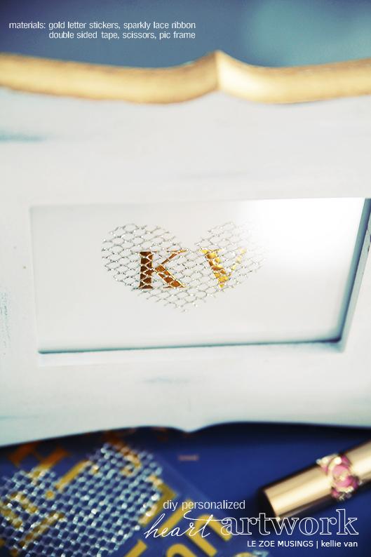 diy personalized heart artwork3