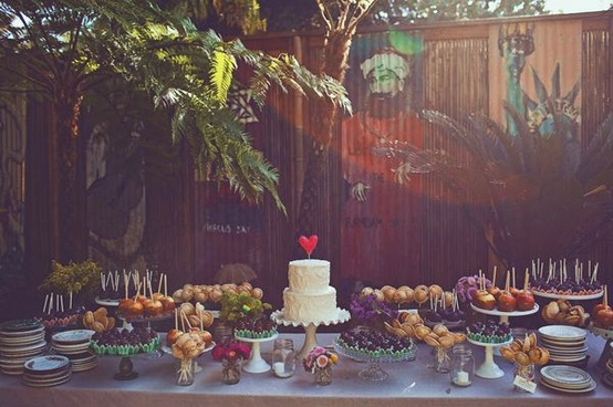 wedding dessert table91