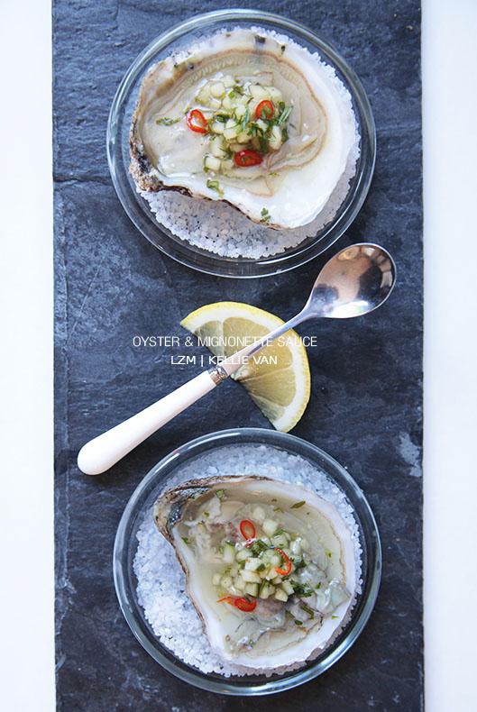 oyster mignonette sauce3