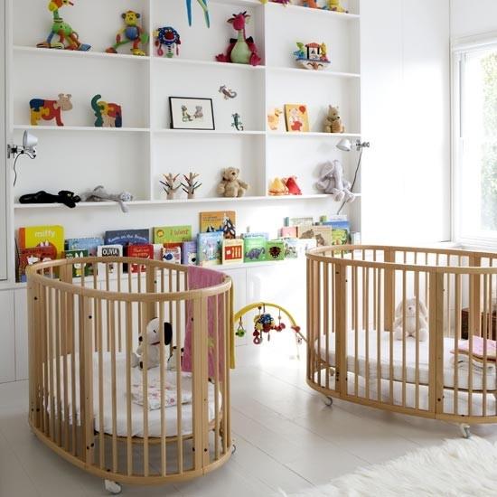 baby twin nursery