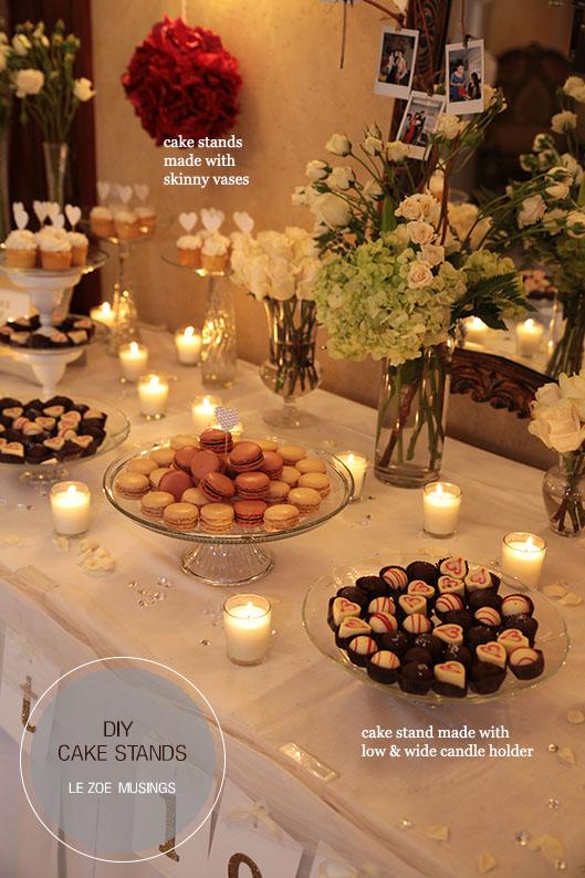 dessert stands