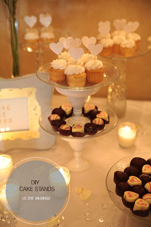 Rims For Cheap >> DIY 2 Tier Cake Stands