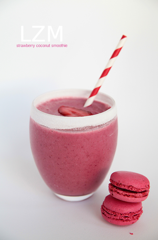 strawberry coconute smoothie