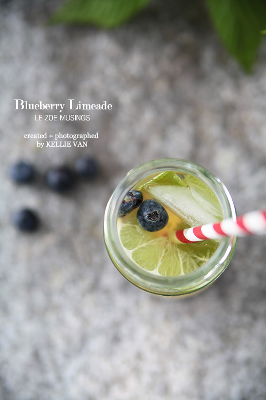 blueberry limeade