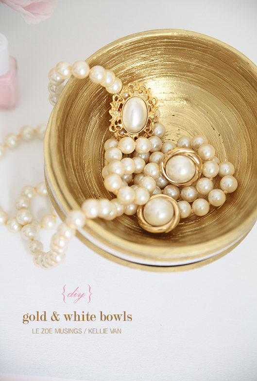 diy gold and white bowls7