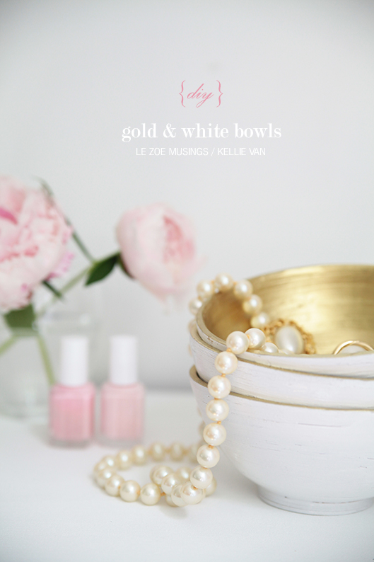 diy gold and white bowls93