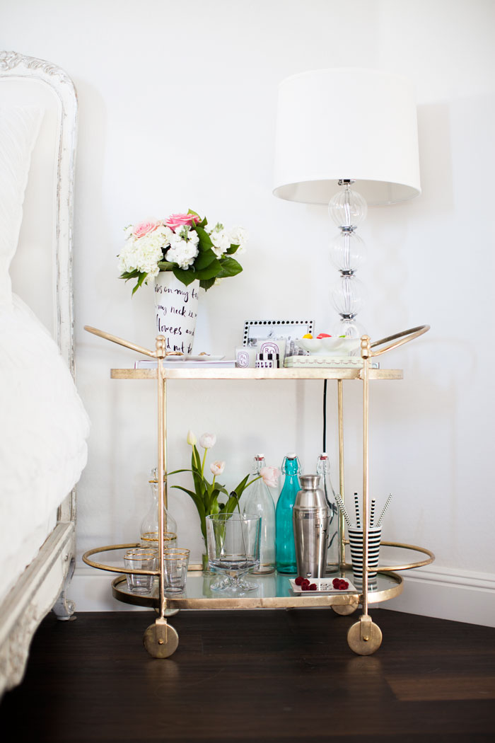 Nordstrom, Home, Bedroom, Dyptique, Scented, Candles, Jonathan Adler, Black and White, Stripe, Dolls, Canister, Zebra, Jewelry, Dish, Tray, Kate Spade, Flower, Vase, Dotted, Picture, Frame, Bar Cart, Stripe, Straws, White, Chevron, Cotton, Bedding, Duvet, Bed, Fancy Another, Pink, XO, Accent, Pillow, Equipment, Silk, Leopard, Shorts, Old Navy, You Me Oui, Tee, T-Shirt, Caitlin Lindquist, A Little Dash of Darling, #darlingathome, Fashion, Blog, Blogger, Gold Bar Cart, Interior Design, Decor, Under $200,
