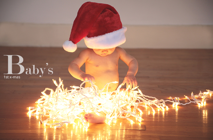 baby holiday pics by le zoe musings