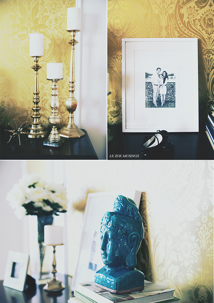 graham + brown 4A wallpaper makeover by le zoe musings