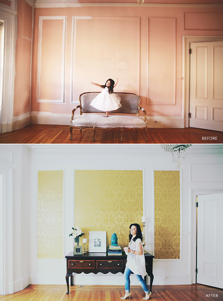 graham + brown wallpaper makeover by le zoe musings before_after2