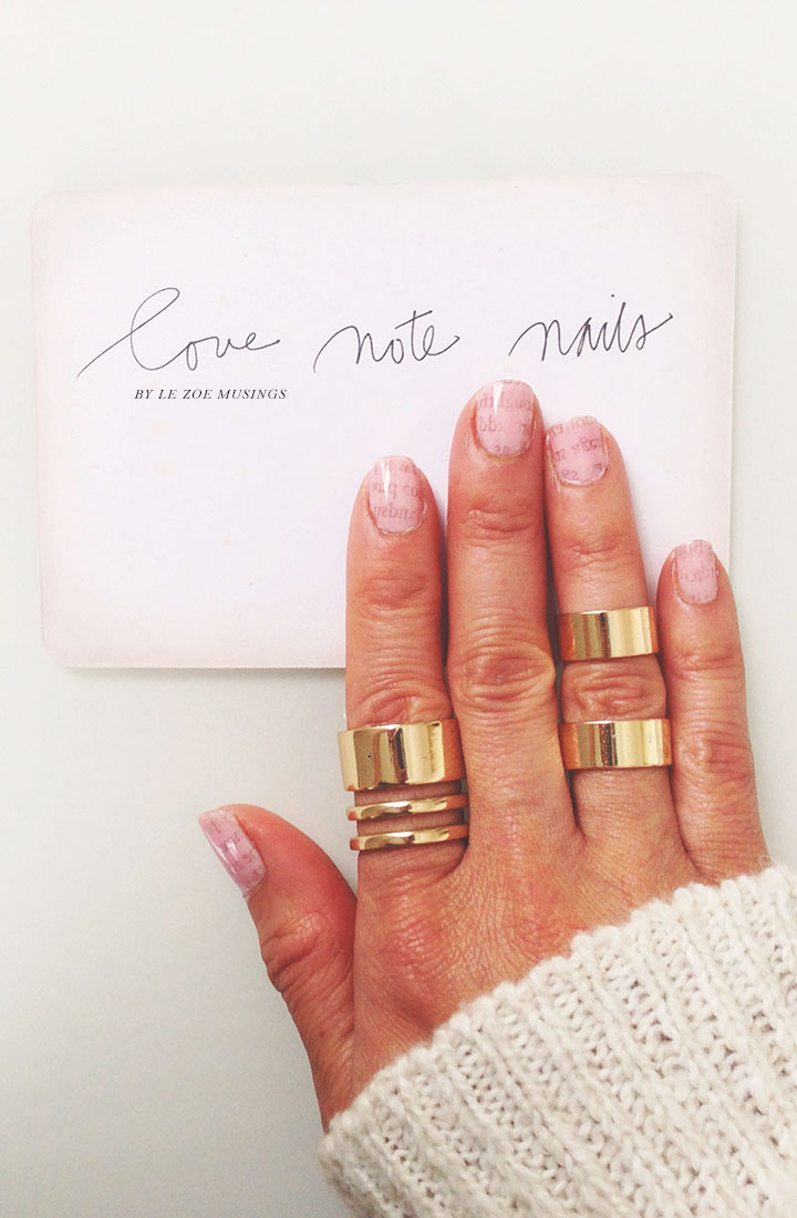 Love Note Nails2 by Le Zoe Musings