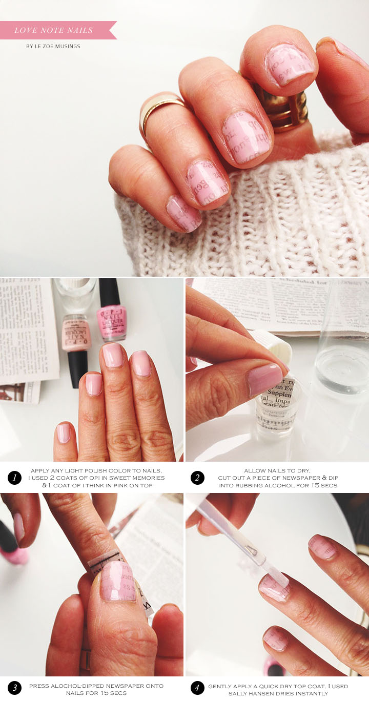 Love Note Nails3 by Le Zoe Musings