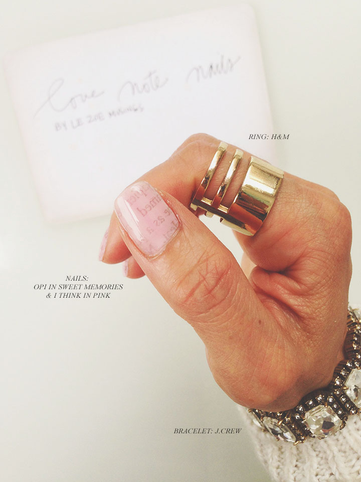 Love Note Nails4 by Le Zoe Musings