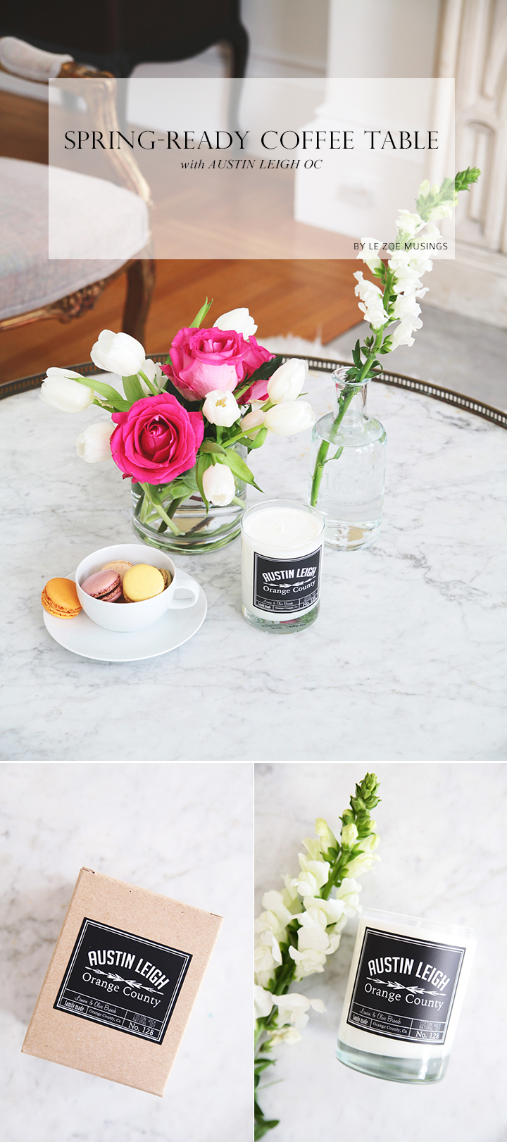 Spring-Ready Coffe Table by Le Zoe Musings
