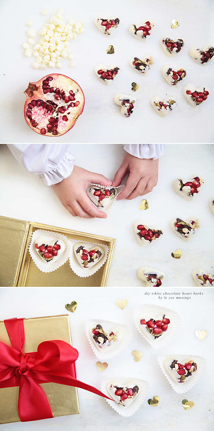 White Chocolate Heart Barks 2 by Le Zoe Musings
