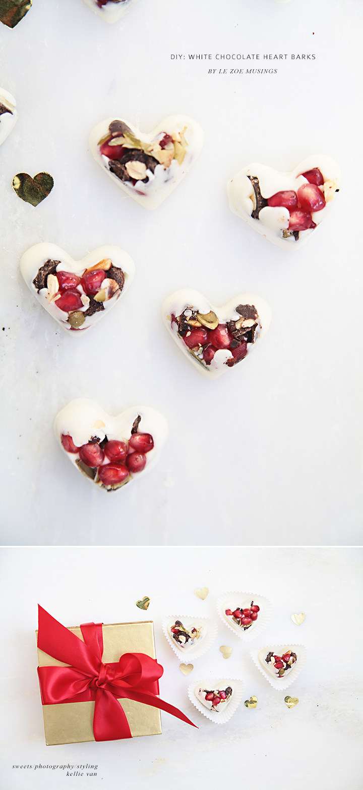 White Chocolate Heart Barks 3 by Le Zoe Musings