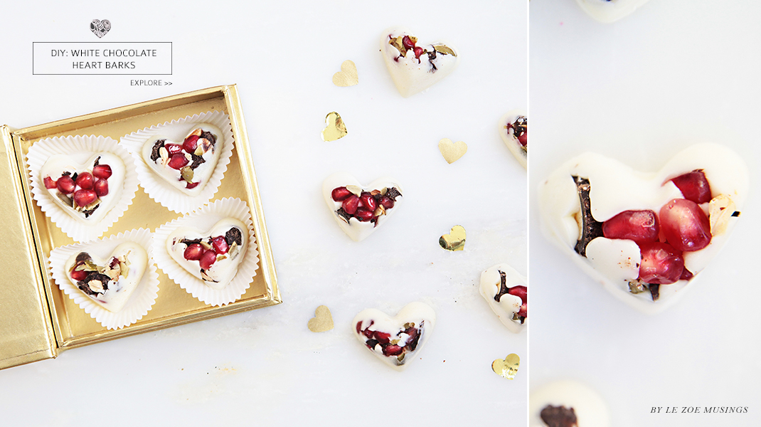 White Chocolate Heart Barks 5 by Le Zoe Musings banner