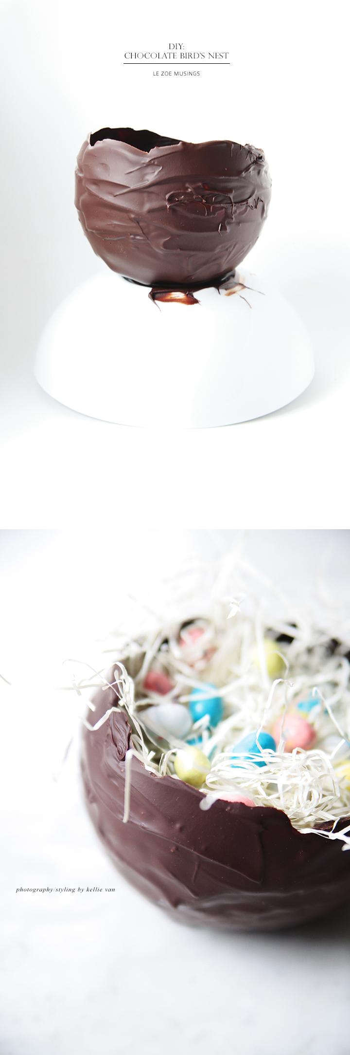 Chocolate Bird's Nest_ by Le Zoe Musings 3