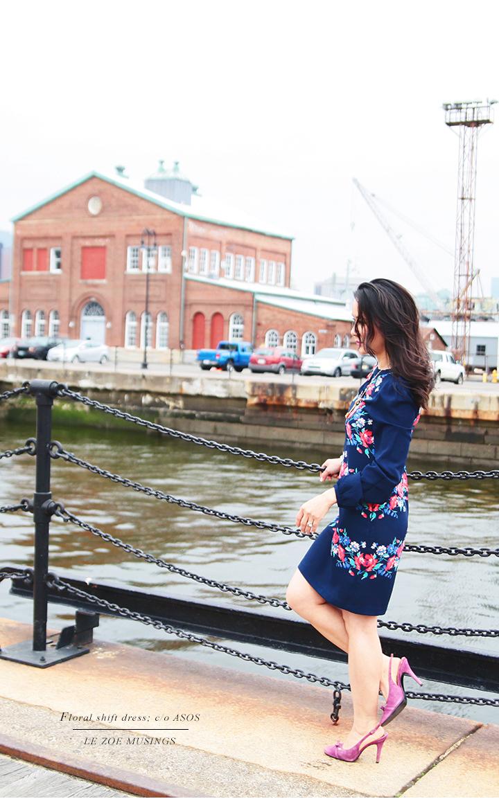 Asos Shift Dress by Le Zoe Musings