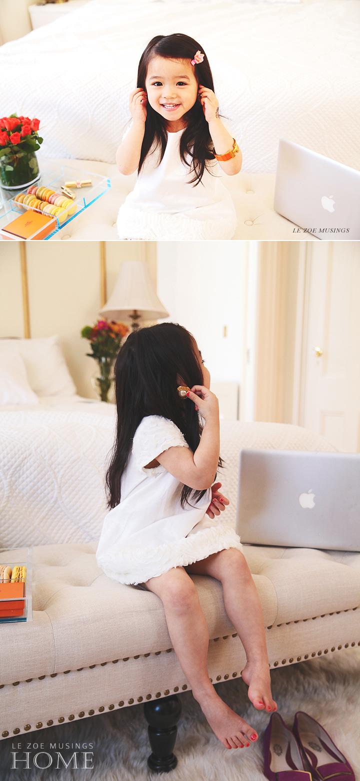 Bedroom bench_Le Zoe Musings