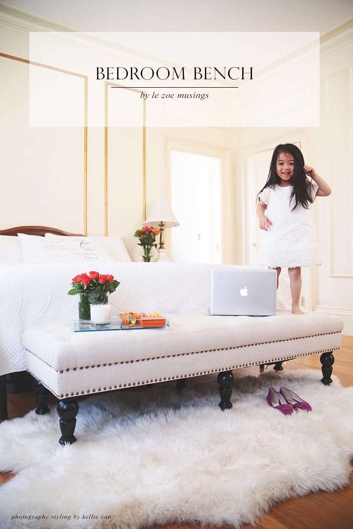 Bedroom bench_Le Zoe Musings6
