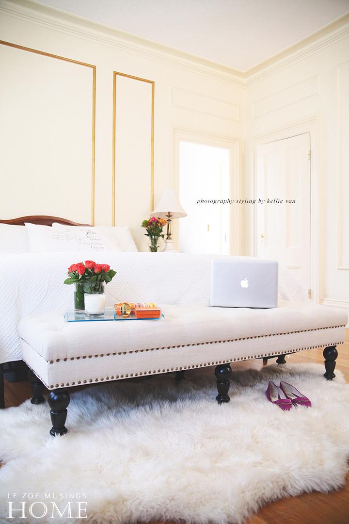 Bedroom bench_Le Zoe Musings7