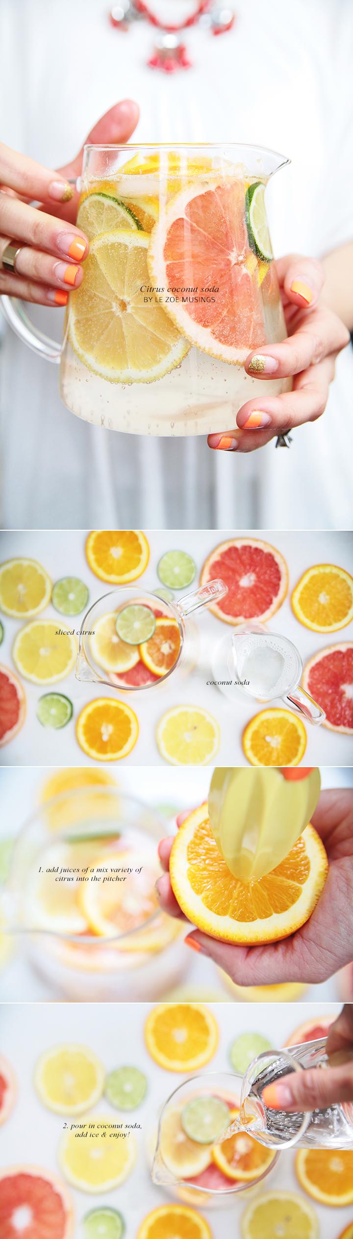 Citrus Coconut Soda_Le Zoe Musings 2