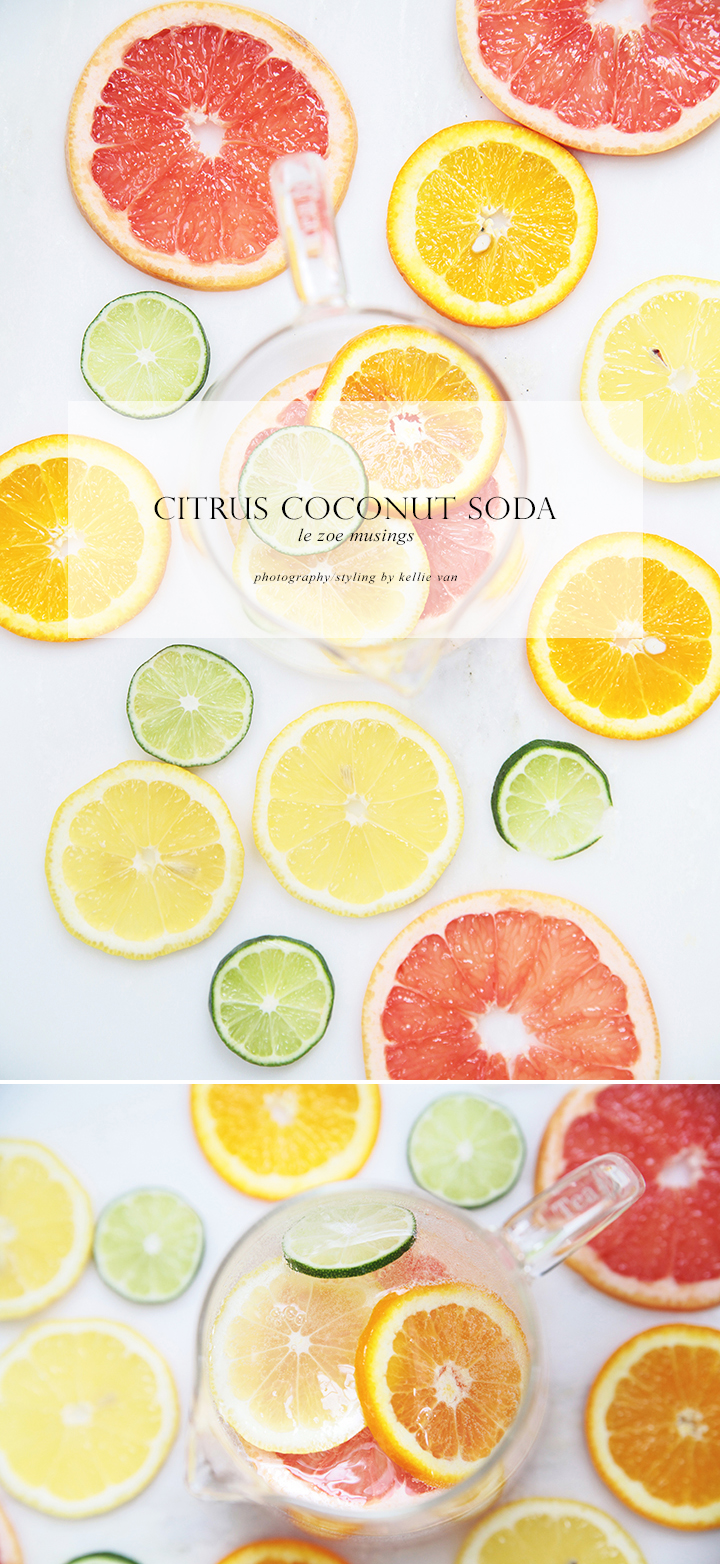 Citrus Coconut Soda_Le Zoe Musings