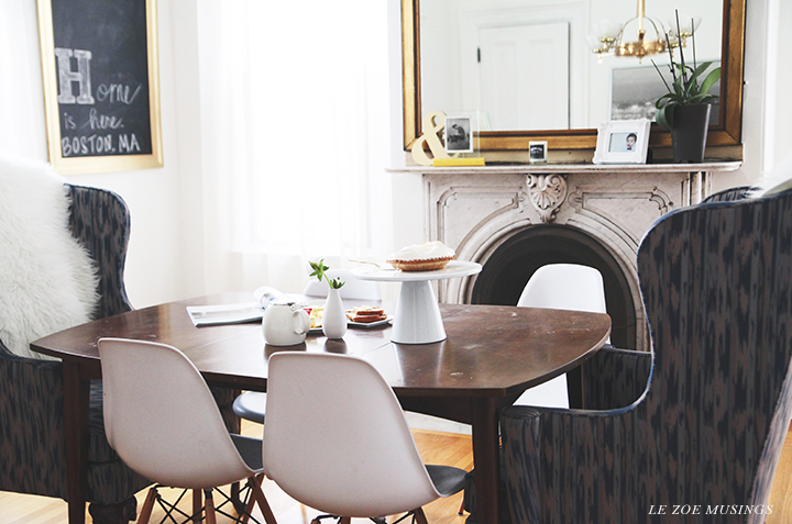 Dining room_Le Zoe Musings