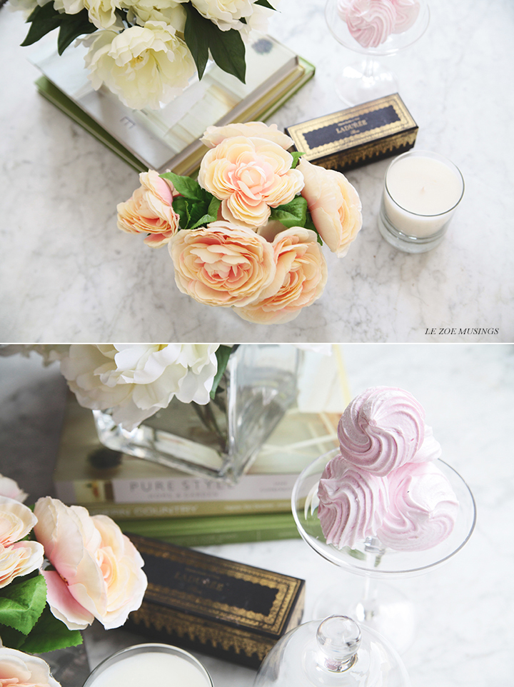 DIY Silk Flower Arrangement by Le Zoe Musings 9B