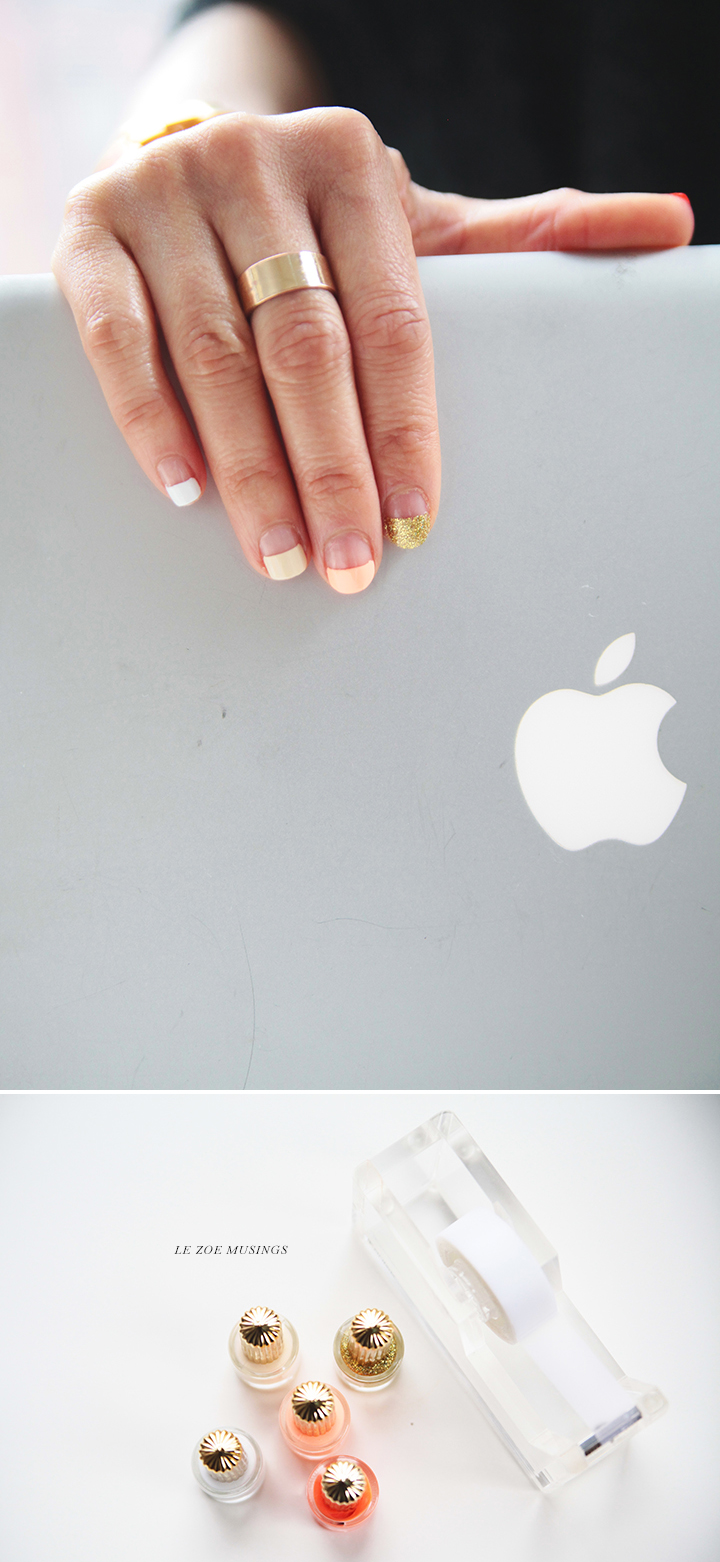 Ombre Spring French Mani_Le Zoe Musings 3