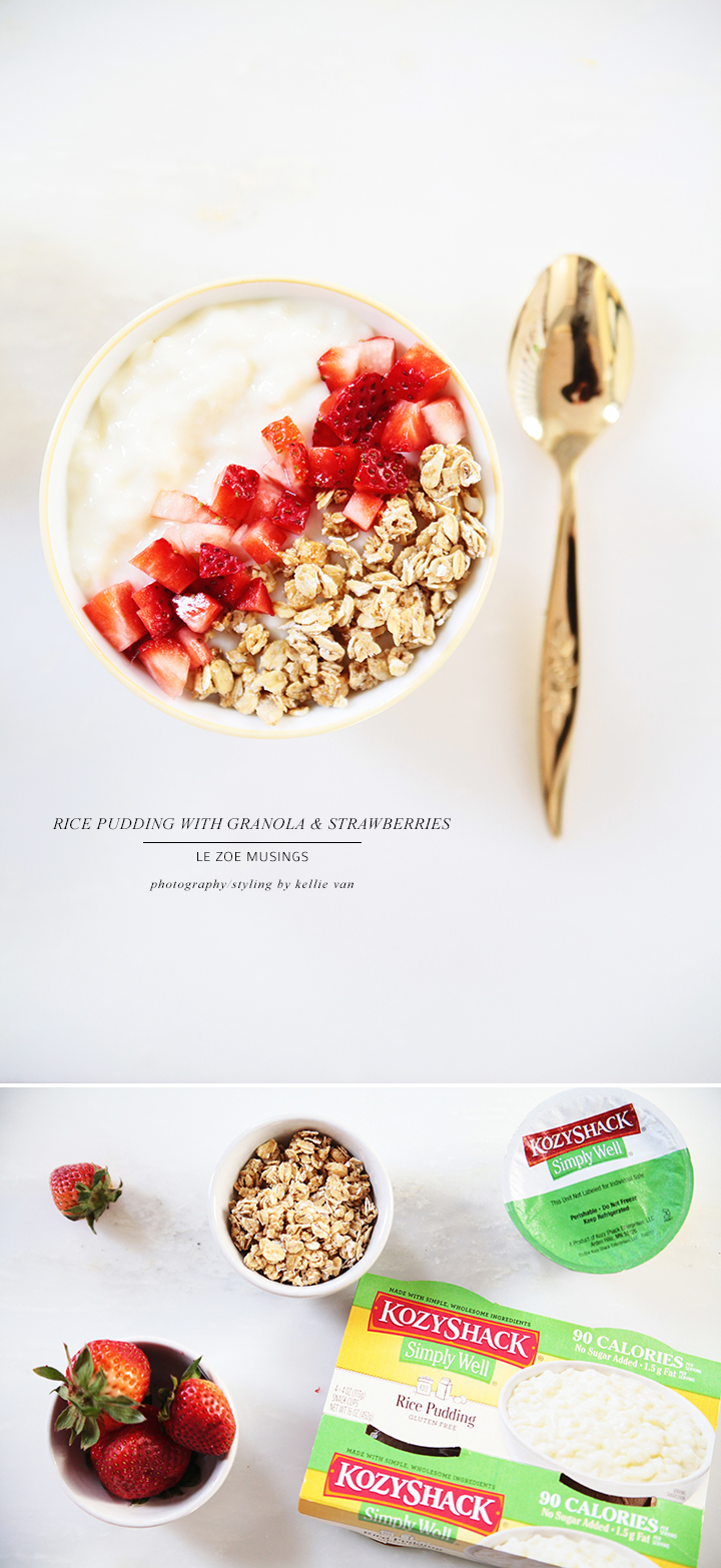 Rice pudding with Granola + Straweberries_ Le Zoe Musings 2