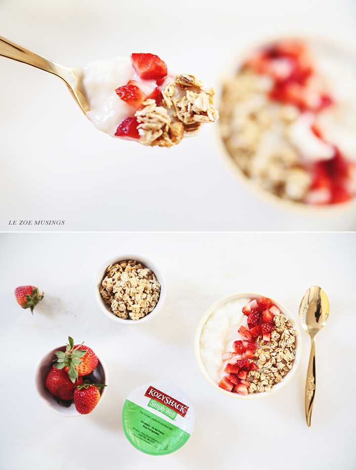 Rice pudding with Granola + Straweberries_ Le Zoe Musings 3