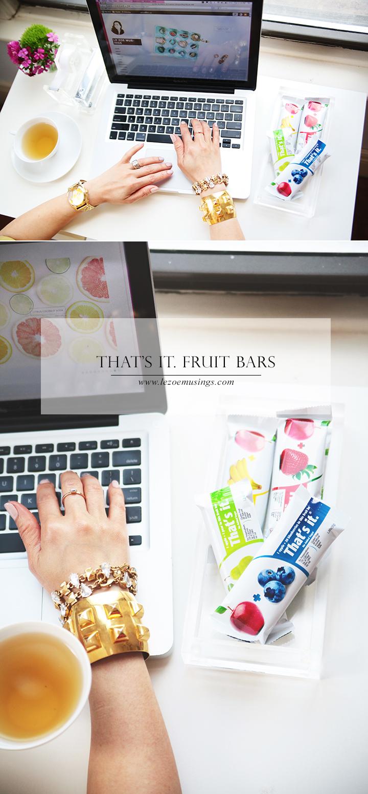 That's It Fruit Bars by Le Zoe Musings
