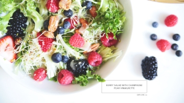 Berry Salad by Le Zoe Musings Banner