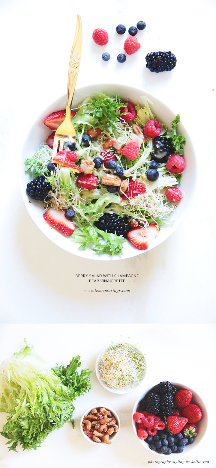 Berry Salad by Le Zoe Musings