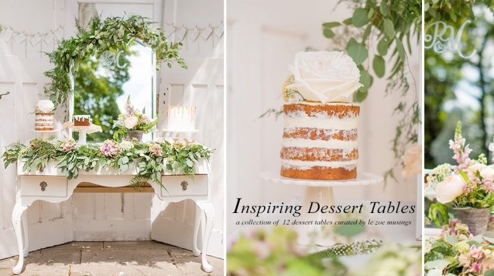Dessert Table Banner by Le Zoe Musings