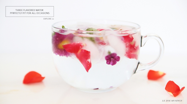 Flower Water By Le Zoe Musings Banner