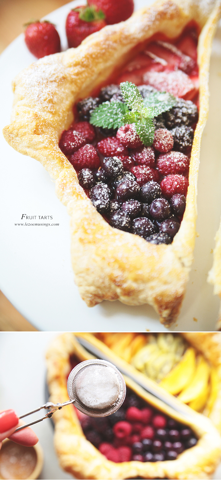 Fruit Tart by Le Zoe Musings 3
