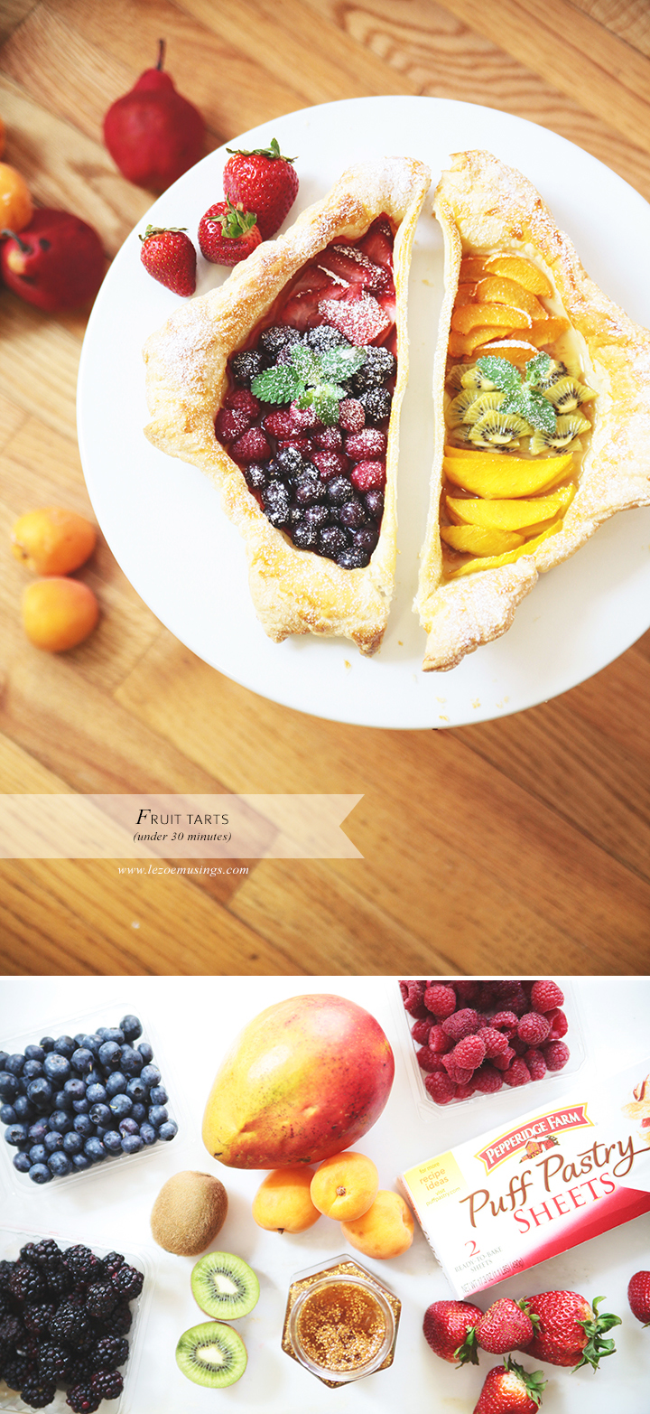 Fruit Tart by Le Zoe Musings
