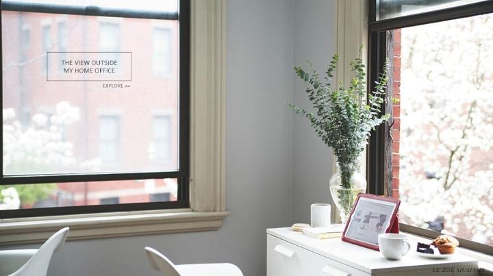 Le Zoe Musings Home Office Banner