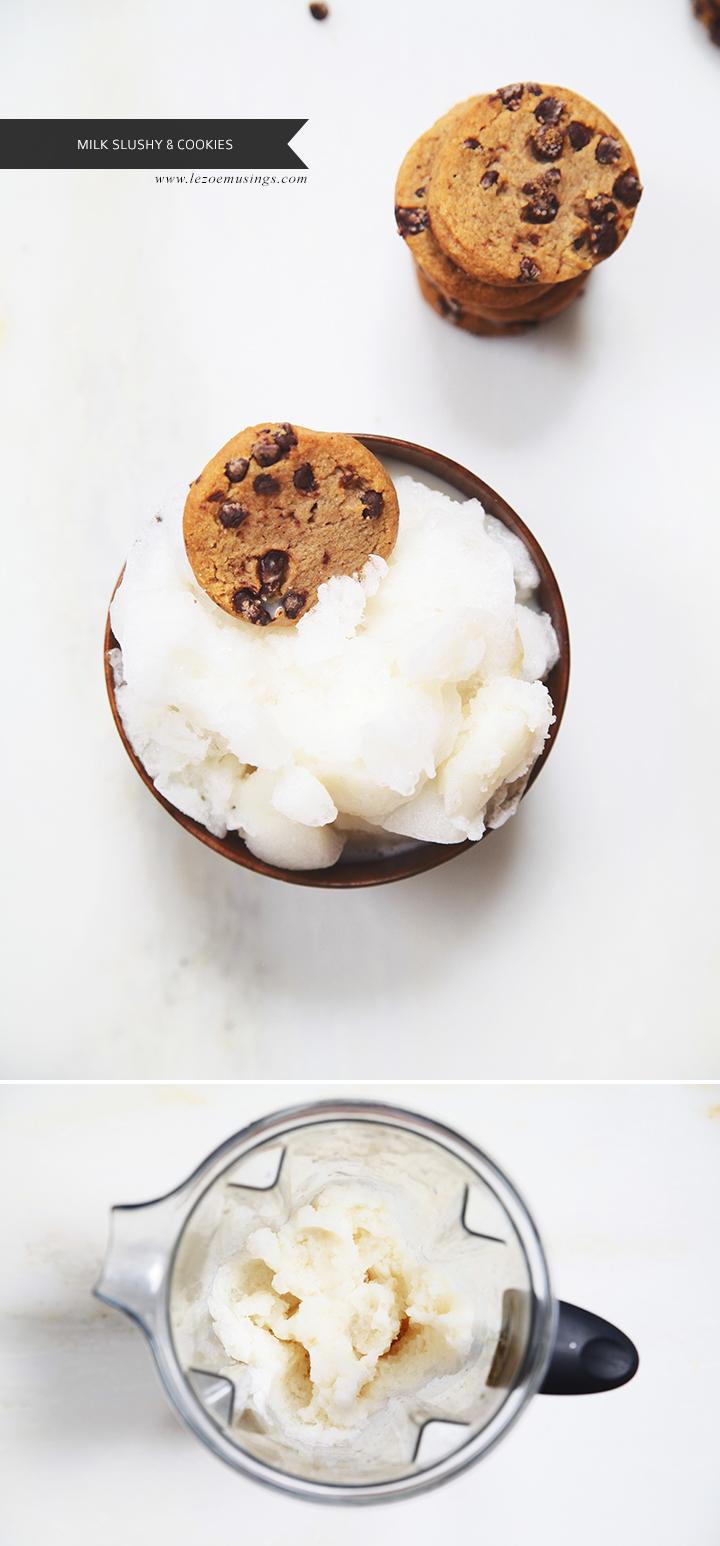 Millk Slushy and Cookies by Le Zoe Musings