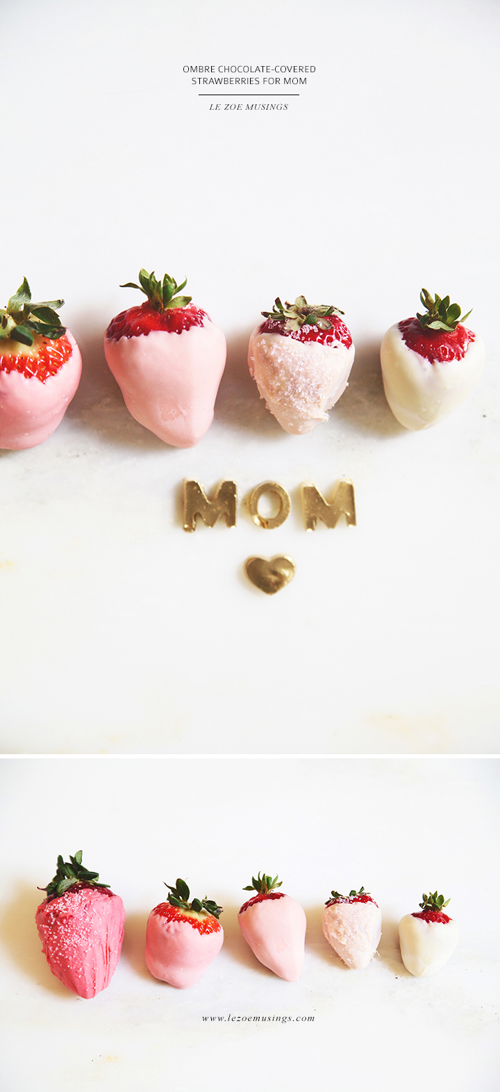 Ombre Strawberry for Mom By Le Zoe Musings 3