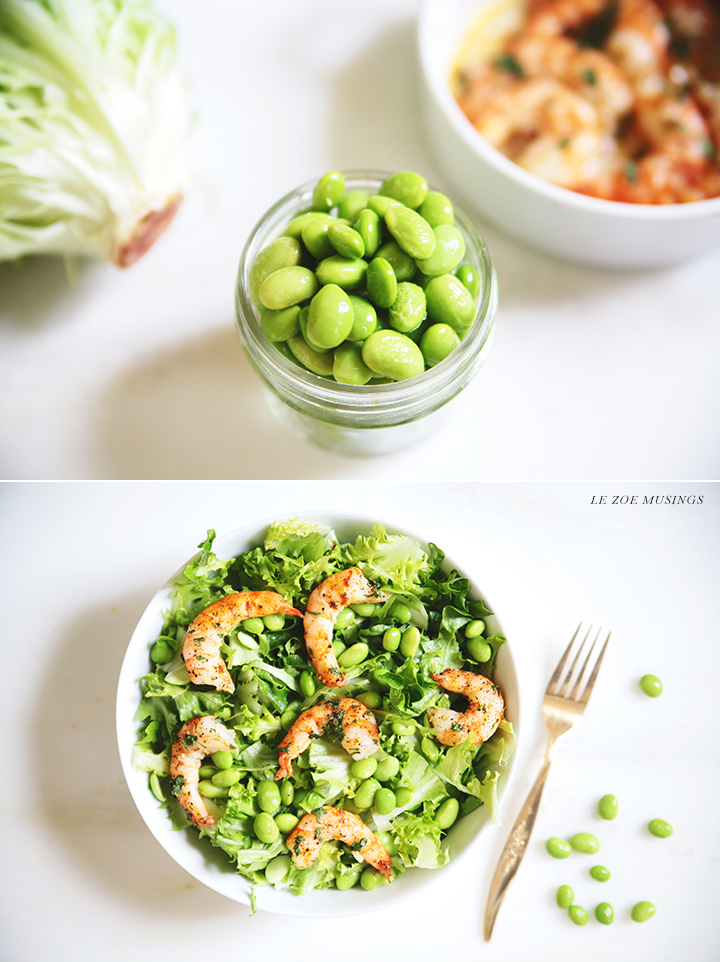 Shrimp and Edamame Salad by Le Zoe Musings2