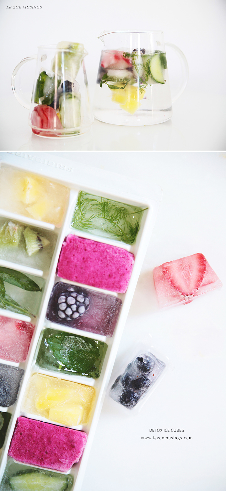 Detox Ice Cubes by Le Zoe Musings 3